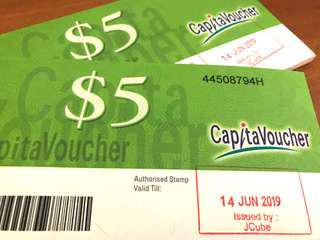 CapitaLand Vouchers for sale