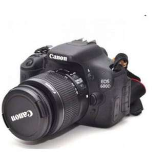 CANON EOS600D LENSA 18-55MM
