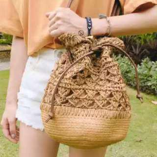 新款日系編織袋