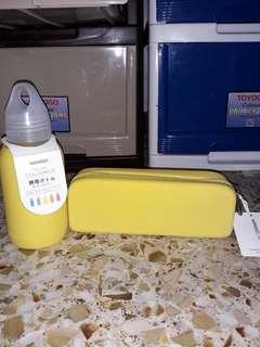 Pencil Box Pencil Case Glass Bottle Water Bottle