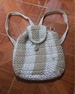 Native nylon backpack