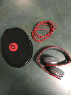 BEATS BY DRE SOLO HD RED EDITION