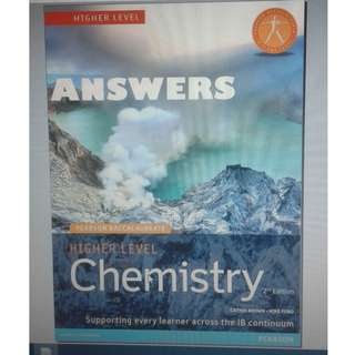 IB Chemistry HL - ANSWERS - Pearson - Second Edition