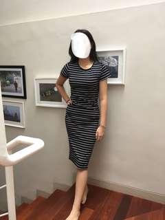 Dress stripey