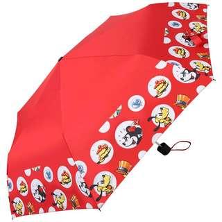 迪士尼派對時光晴雨兩用三折傘 (紅)
