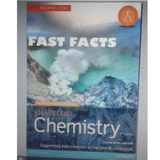 IB Chemistry HL - FAST FACTS - Pearson - Second Edition
