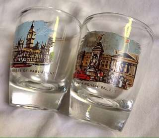 Vintage London Souvenir Shot Glass