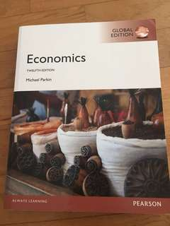 Economics 12th edition by Michael Parkin