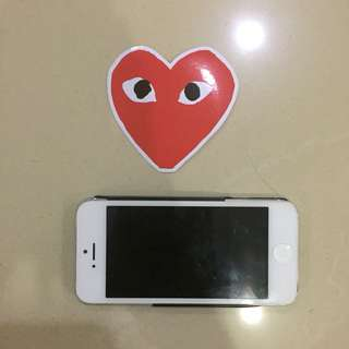 Comme Des Garcons CDG Waterproof Luggage Laptop Stickers
