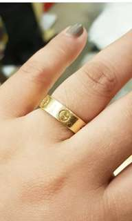 Authentic Cartier Ring size 6 9.5g 18k size 58 ❤️BIG SALE P47k ONLY❤️ Swipe for detailed pics