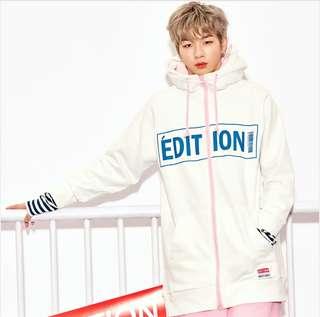 【LAP Korea X Daniel Wanna One】 Air Hoodie