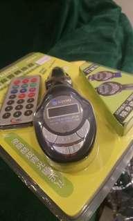 🚚 KINYO 耐嘉 AD80-1 車用MP3無線轉換器