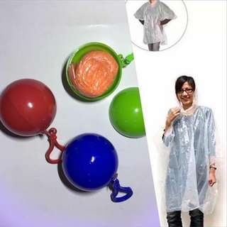 Disposable Raincoat ball
