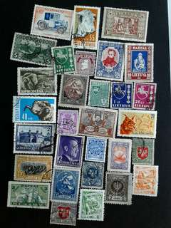 World vintage mint & used stamps
