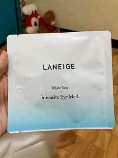 laneige intensive eye mask