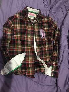Kemeja flannel paul's boutique