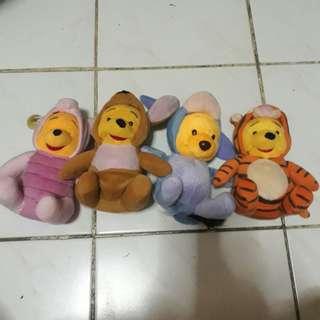 Winnie the Pooh Set Stuffed Toy