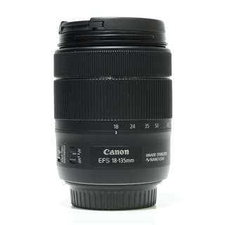 Canon EFS 18-135mm f3.5-5.6 IS USM Lens