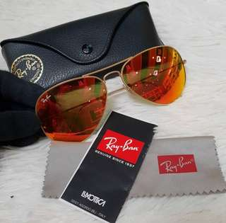 Rayban Flashlens 58mm ❤️MARK DOWN SALE P4500 ONLY❤️ ✖️✖️P5995✖️✖️ Barely used. Good as new condition With case and wipecloth Swipe for detailed pics