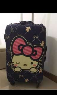Luggage protector cover Hello Kitty