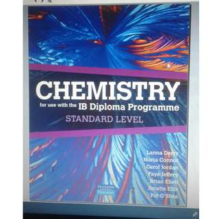 Chemistry SL - Derry, Connor, Jordan, Jeffery, Ellet, Ellis and O'Shea - Pearson 2008
