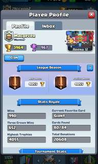 CLASH ROYALE ACCOUNT FOR SALE