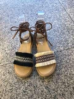 🚚 #女款平底羅馬涼鞋 👉👉2色 36.37.38.39 $390