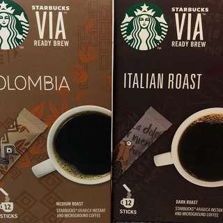 Starbucks Via (COLOMBIA & ITA ROA)