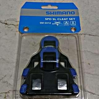 (FREE Mailing) Shimano Blue SH12 Cleats