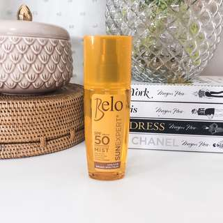 💛 Belo sun expert spf 50 pa+++ transparent mixt sun block • non sticky anti aging hypoallergenic quick drying