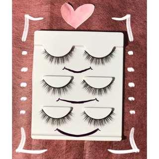 3D fake lashes
