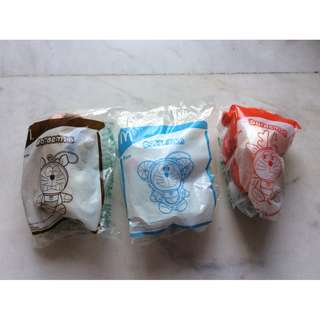 McDonald Doraemon set