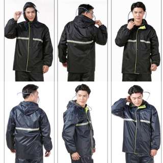DOUBLE-LAYER WATERPROOF RAINCOAT | Tarpoulin Inner-lined