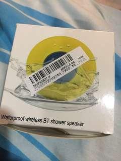 Waterproof splash proof shower speaker Bluetooth wireless JBL suction cup