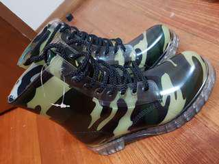 Camouflage gumboots