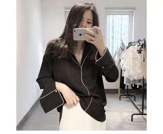 Ulzzang Black Cardigan