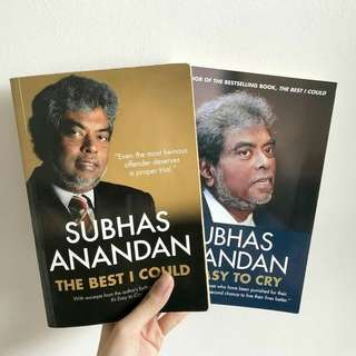 Subhas Anandan the best I could and it's easy to cry