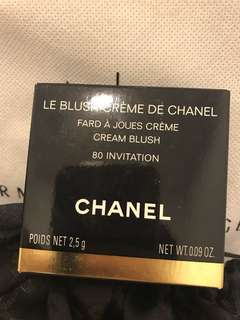 Chanel cream blush