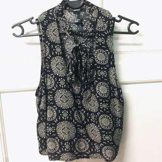 [WORN ONCE] Forever 21 Front knot top