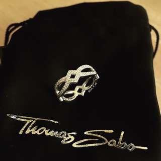 Thomas Sabo Eternity Love Band Cubic Zirconia Ring