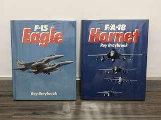 Roy Braybrook Combat Aces: F-15 Eagle/ F18 (Hardcover)