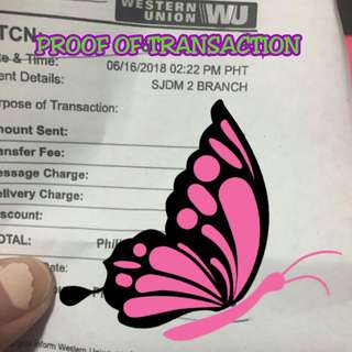 PROOF OF TRANSACTION😍😍😍😘😘😘