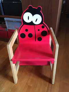 Lady bug chair for toddlers