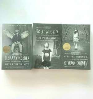 Miss Peregrine's Peculiar Children Series by Ransom Riggs