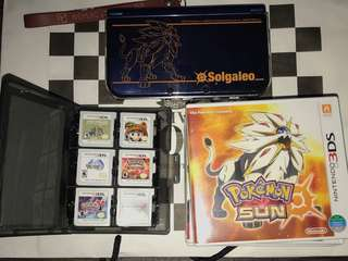Nintendo New 3DS XL with 9 games