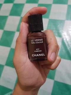 Chanel forbidden nail polish
