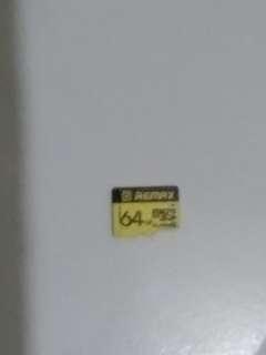 Remax class 10 64gb sd tf card