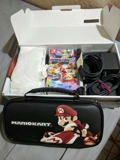 Nintendo switch complete package slightly nego