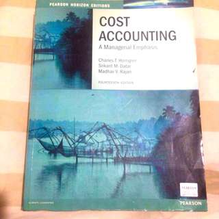Cost Accounting (14th Edition) by Horngren/Datar/Rajan