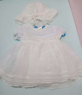 Dedication/Baptism Dress with Hat